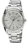 Accurist MB1038S Mens Stainless Steel Bracelet Silver Dial Date Watch